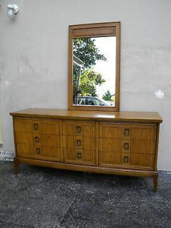 Newly listed MID CENTURY DRESSER WITH MIRROR BY DIXIE # 1846