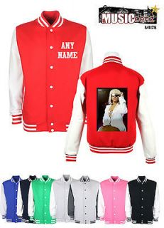 Lady gaga koolart personalised Varsity college Letterman Jacket Mi178
