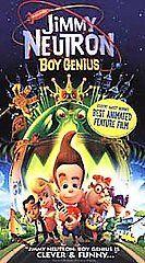 Jimmy Neutron   Boy Genius [VHS] G (General Audience) 2002 07 16