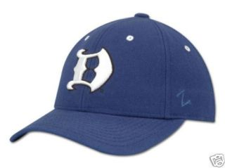 Duke Blue Devils Gothic D Cap Hat Lid Fitted 7 1/4
