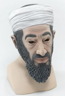 OSAMA BIN LADEN MASK TERRORIST FANCY DRESS