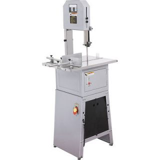 4HP Meat Butcher Band Mincer Saw Grinder Stuffer Stainless Steel