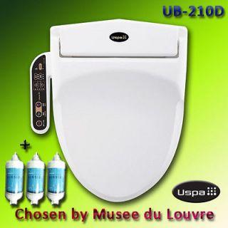 Electronic Bidet, Auto Toilet Washlet Seat, UB 210D + 3 Filters, Korea