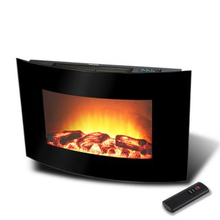 1500 WATT Electric Fire Place Wall Mounted Heater W/ Remote Control