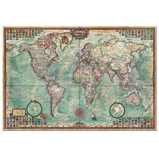 Educa   45183   Jigsaw Puzzle   4000 Pieces   World Map