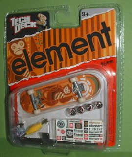 RARE Tech Deck ELEMENT Tosh Townend MONKEY Fingerboard 96mm Skateboard