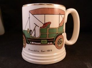 STUNNING LORD NELSON WARE ELIJAH COTTON LTD FRANKLIN CAR 1906 MUG CUP
