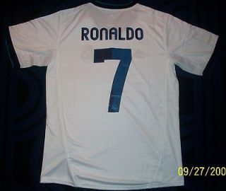RONALDO REAL MADRID JERSEY SIZE SMALL ADULT