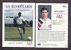1992 U. S. OLYMPIC HOPEFULS RHETT HARTY SOCCER CARD #66