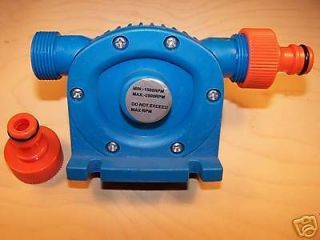 WATER PUMP POWERED BY ELECTRIC DRILL (A)