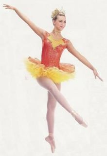DANCE OF REED FLUTES Costume Ballet Nutcracker w/ TIARA