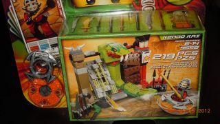 LEGO NINJAGO (9558) KENDO KAI Gold Weapons NEW TRAINING SET VHTF