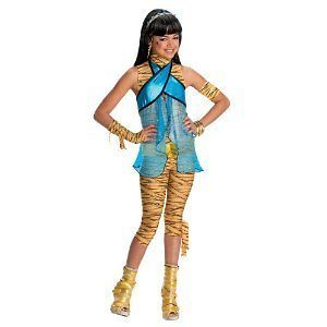 MONSTER HIGH Cleo de Nile CHILD costume SMALL Girl