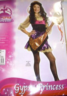Gypsy Esmeralda Costume Dress Girls M 8 10 NIP
