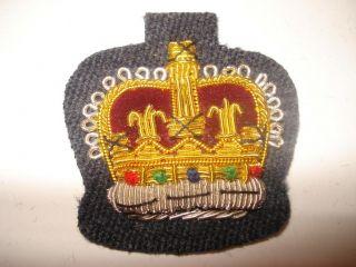 RAF VRT Warrant Officers Badge, Mess Dress, Crown, Air, Royal Air