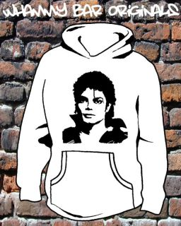MICHAEL JACKSON HOODIE HOODY MUSIC HOODED TOP WB201