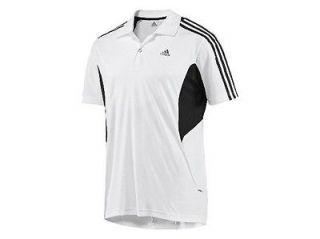 Adidas Clima 365 Climacool Mens Polo shirt/top Sz 3XL White XXXL