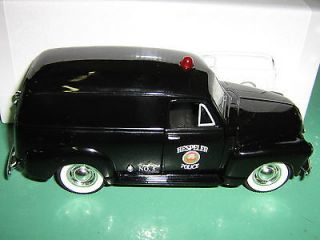 HESPELER POLICE DEPT 1952 CHEV PANEL TRUCK 1/25 LIBERTY BOXED