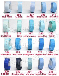 3mm 6mm 9mm Wholesale Roll Aqua Blue Grosgrain Ribbon 1/8 1/4 3/8inch
