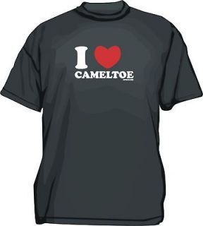 Heart LOVE CAMEL TOE CAMELTOE mens tee Shirt