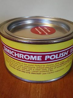 Simichrome Polish   Metal Polish   Non Toxic   8.82 oz / 250 Gram Can