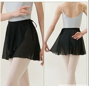 Adult Ballet Tutu Skirt Wrap Scarf Matching With Leotards Dance Skate