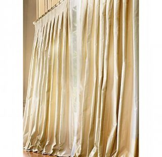 Restoration hardware like new orb candle chandelier w iron for Restoration hardware silk curtains
