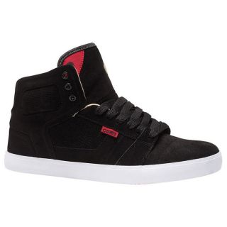 OSIRIS Skate Shoes EFFECT High Tops BLACK/CREAM/RED