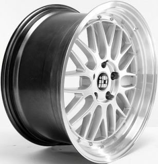 19 STAGGERED STR 601 LM STYLE 5X112 SILVER WHEEL FIT AUDI A4 A5 A6 A7