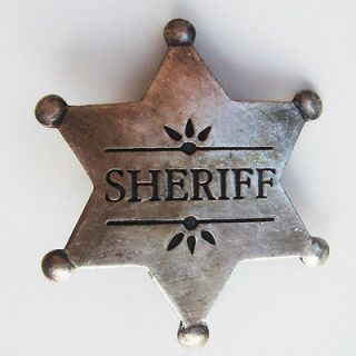 OLD WEST obsolete 1900s SHERIFF police law BADGE 1900s