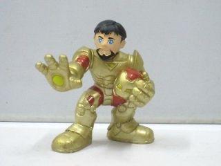 SD0 MARVEL SUPER HERO SQUAD GOLD TONY STARK IRON MAN