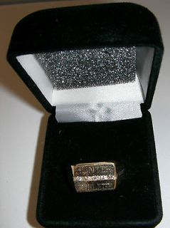 Newly listed 18K Gold Hunter College Ring with Diamonds   Brand New