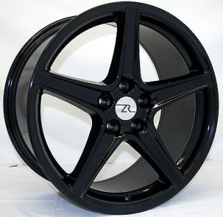 Black Mustang ® Wheels fits Saleen 19 Replica 2005 2013 19 inch rims