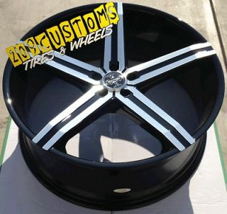INCH VERSANTE 228 WHEELS RIMS & TIRES CHEVY CAMARO 2010 2011 2012 2013