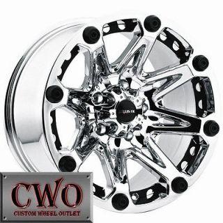 Newly listed 18 Chrome Ballistic Jester Wheels Rim 8x165.1 8 Lug Chevy