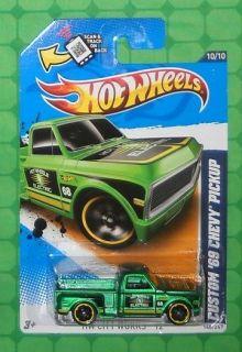 2012 Hot Wheels HW City Works #140     Custom 69 Chevy Pickup