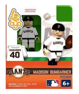 Madison Bumgarner Oyo Mini Fig Figure Lego Compatible San Francisco