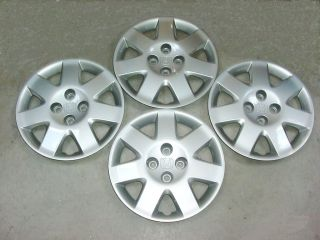 HONDA CIVIC 15 7 SPOKE WHEEL COVERS HUB CAPS set of 4 GENUINE FACTORY