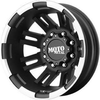 Black Moto Metal MO963 Dually Rear Wheels 8x210  134 CHEVROLET GMC
