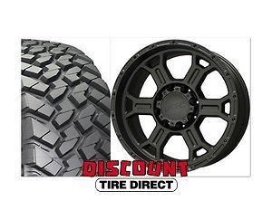 2007 2012 Wrangler 17 Package Nitto Trail Grappler Tires Black Wheels