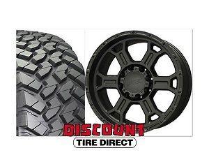 2007 2012 Wrangler 17 Package Nitto Trail Grappler Tires Black Wheels