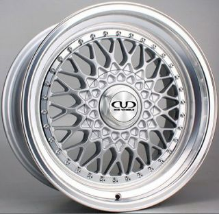 KLASS 1993 2000 DVD TX09 SILVER DEEP DISH ALLOY WHEELS 5x112