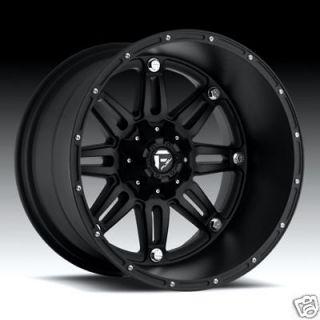22 FUEL OFFROAD Hostage Wheel SET XD Black 22x14 FUEL DEEP LIP SERIES