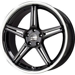 New 20X10.5 5x114.3 FALKEN LX52 Black Wheels/Rims