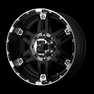 XD SPY BLACK RIMS WITH 295 70 18 NITTO TERRA GRAPPLER AT TIRES WHEELS