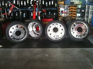24 DUALLY WHEELS, TIRES, ADAPTERS & ACCESSORIES