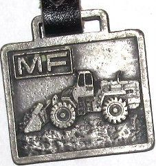 Massey Ferguson Wheel Loader Watch Fob MF construction