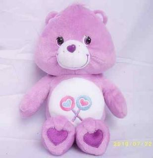 27cm Soft Plush Fat Face Share Care Bears New