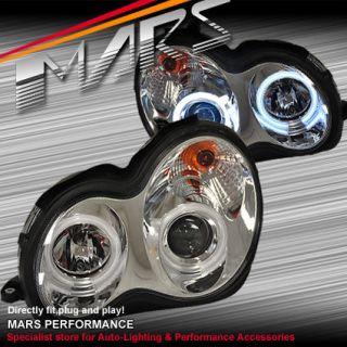 CCFL Projector Head Lights Mercedes Benz W203 C Class C