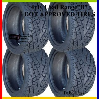 215/35 12 DOT Legal Radial Low profile GOLF CART TIRES